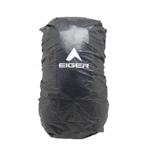 EIGER TRANSPARENT RAINCOVER M 30-35L BAG COVER