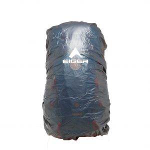 EIGER TRANSPARENT RAINCOVER L 45-55L BAG COVER