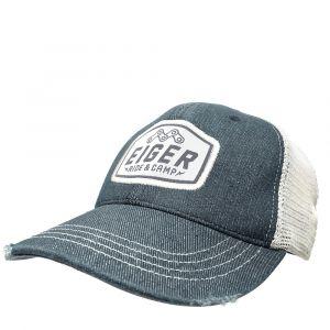 EIGER RIDE AND CAMP DENIM TRUCKER CAP