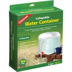 COGHLANS COLLAPSIBLE WATER CONTAINER 18 WATER STORAGE