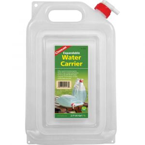 COGHLANS EXPANDABLE WATER CARRIER 7.57L WATER STORAGE