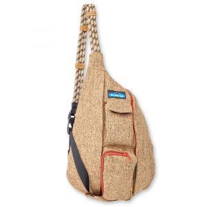 KAVU MINI ROPE TWEED SHOULDER BAG