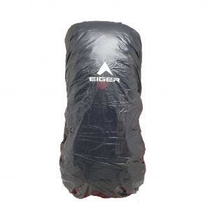 EIGER TRANSPARENT RAINCOVER XL 65-75L BAG COVER